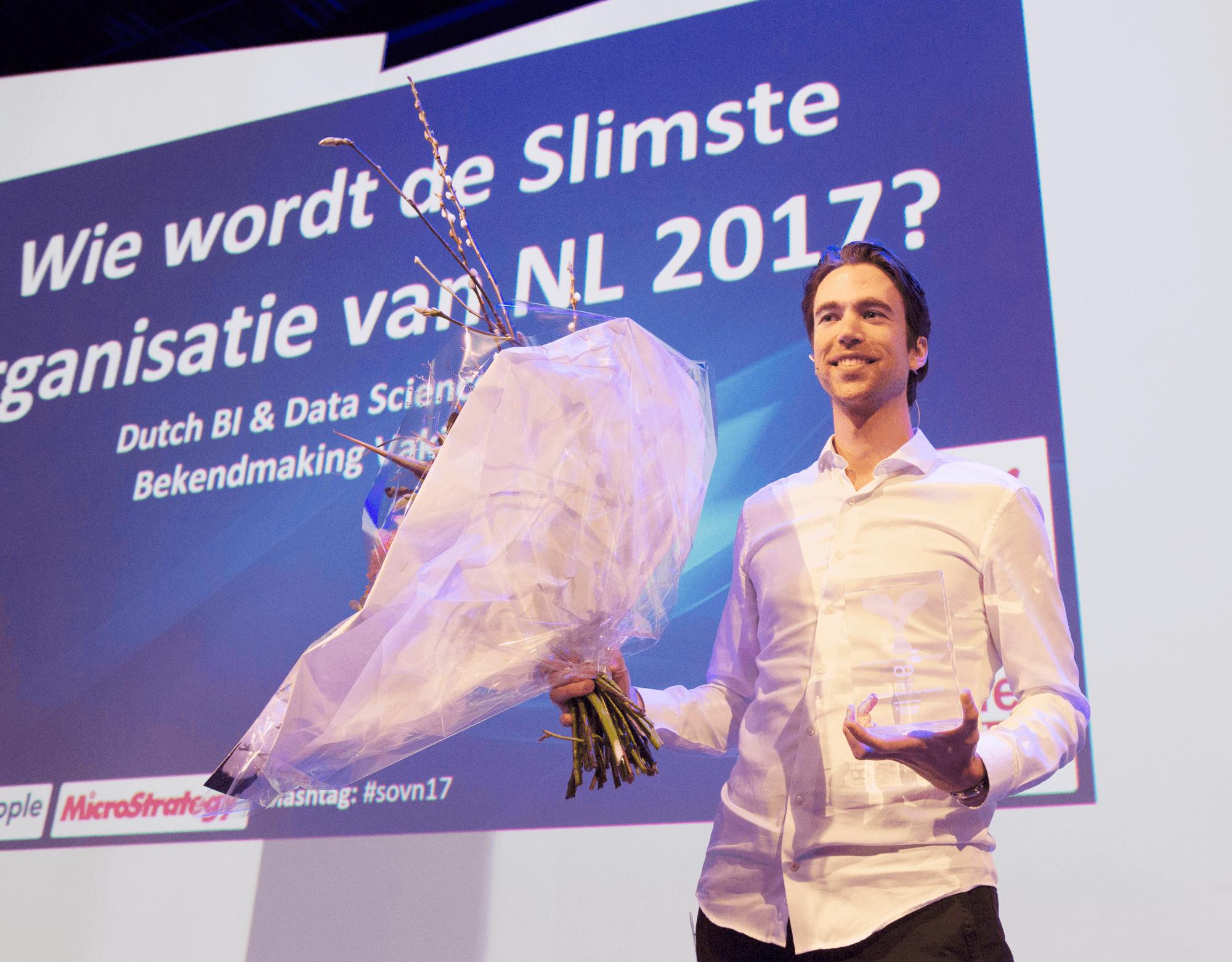De prijzen van de Dutch BI & Data Science Award