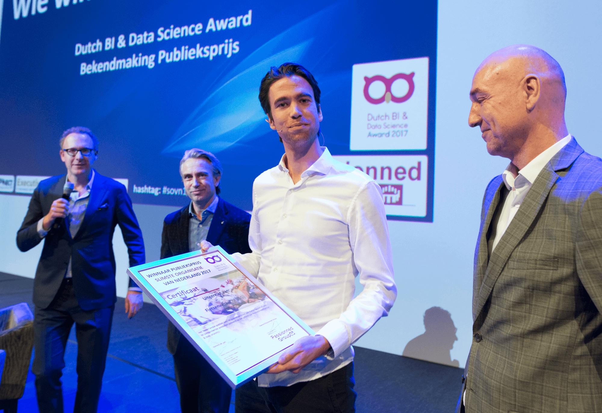 De winnaars en genomineerden van de Dutch BI & Data Science Award