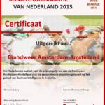 Juryrapport Dutch Business Intelligence Award 2013