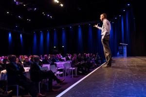 Hendrik Blokhuis on stage