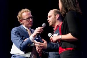 Martin Dijkink verdedigt zijn nominatie namens Tempo-Team