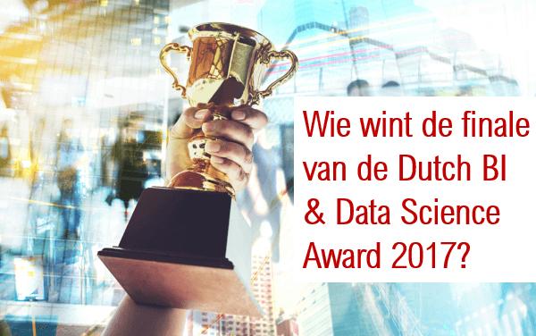 Wie wint de finale van de Dutch BI & Data Science Award 2017?