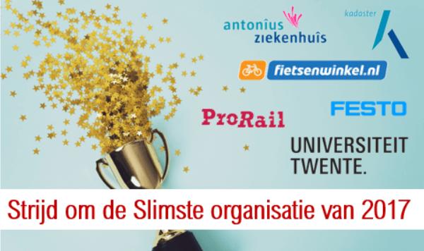 Zes organisaties maken kans op Dutch BI Award 2017
